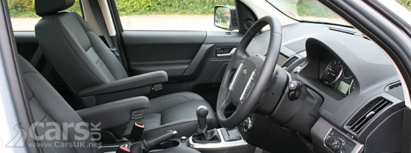 Land Rover Freelander 2 eD4 HSE Review Interior