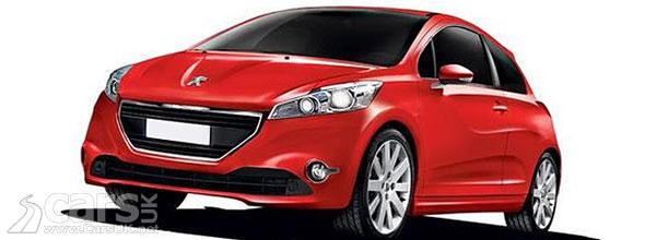 New Peugeot 208 (2012)