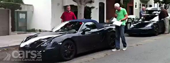 Porsche Spy Video