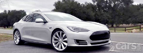 Tesla Model S with M5 Performance