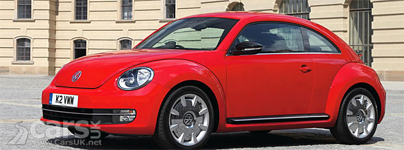 2012 VW Beetle UK prices and models