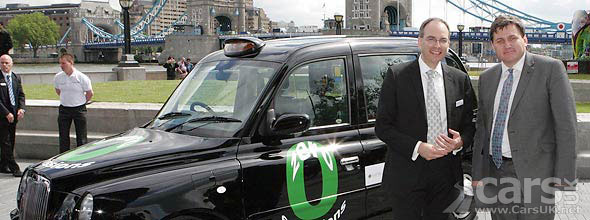Hydrogen powered London Taxi