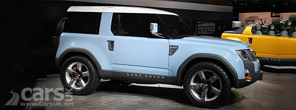 New Land Rover Defender DC100 Concept at L.A. Auto Show