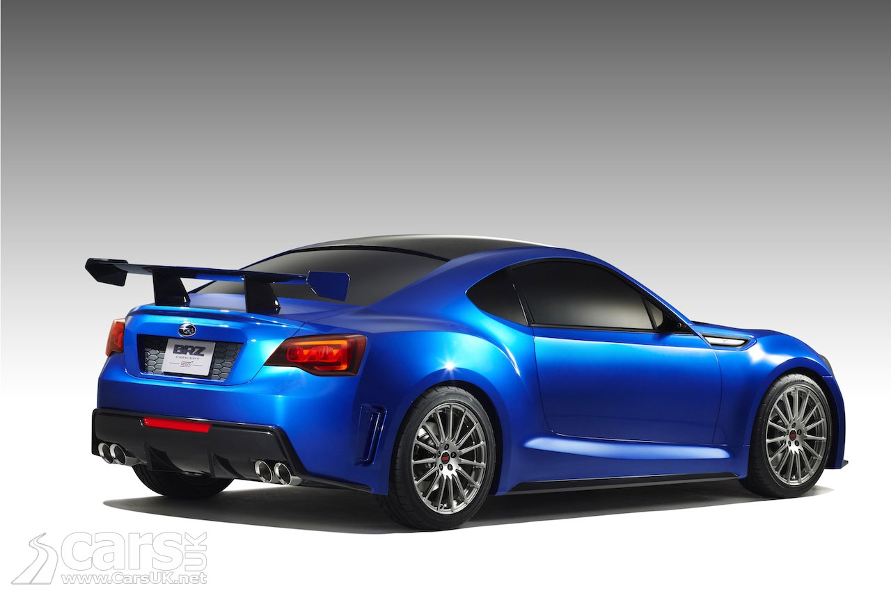 Subaru BRZ: First official BRZ picture
