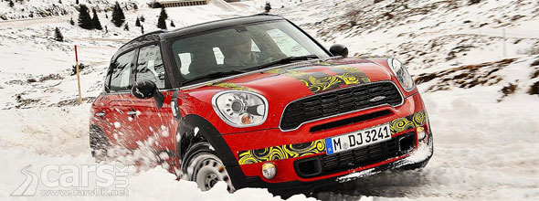 MINI Countryman JCW tease