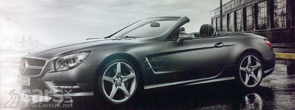 2012 Mercedes SL