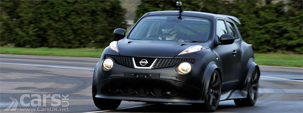 Nissan Juke-R Test Video