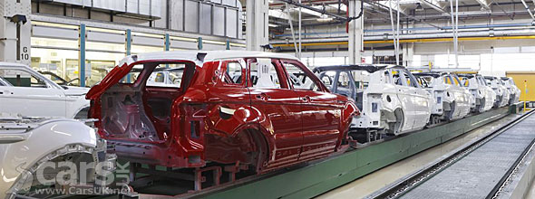 Range Rover Evoque Production