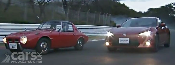 New Toyota GT 86 video with the Toyota Sports 800
