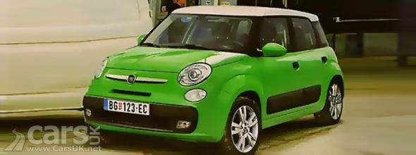 Green Fiat 500L