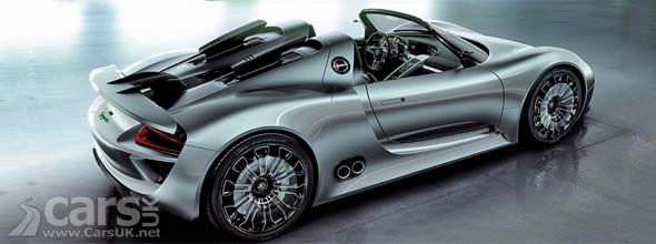Porsche 918 Spyder to get 4.6 litre V8
