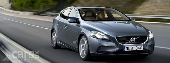 2012 Volvo V40 driving shot