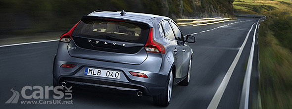 Back view 2012 Volvo V40
