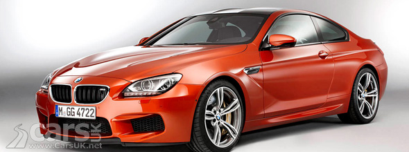 Orange 2013 BMW M6 Coupe