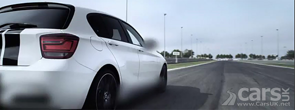Bmw 1 Series M Performance Parts Teased In A Blur Cars Uk