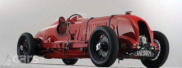 Red 1929 Bentley 4 1/2 Litre Supercharged