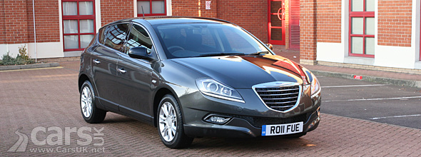 Exterior of grey Chrysler Delta