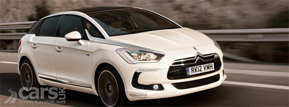 White Citroen DS5 UK