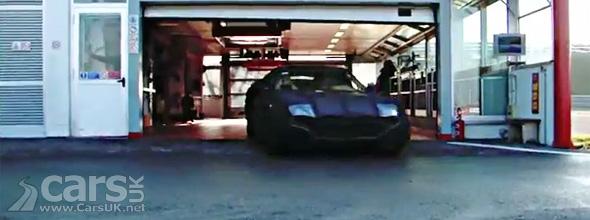 Camouflaged Ferrari F620 GT