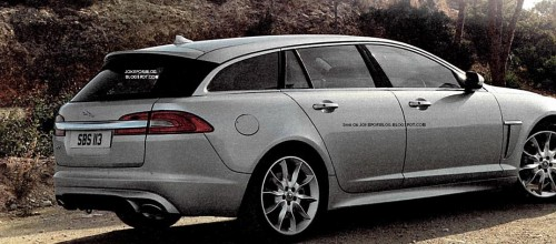 Leaked photo Jaguar XF Sportbrake