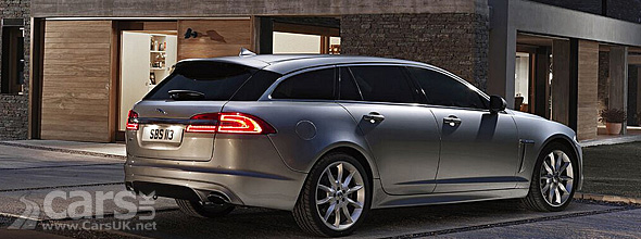 Rear view Jaguar XF Sportbrake