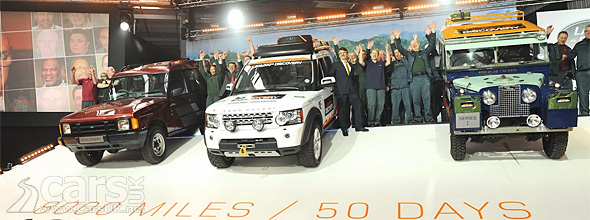 Land Rover Discovery Million Journey