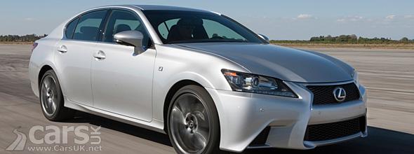 Silver 2012 Lexus GS F Sport