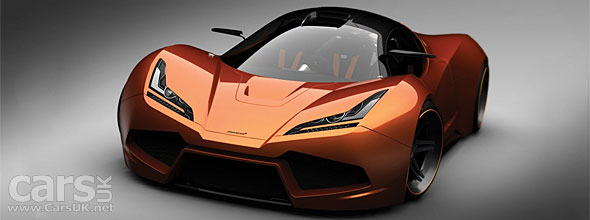 Render of new McLaren F1