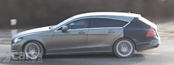 Camouflaged Mercedes CLS Shooting Brake Estate