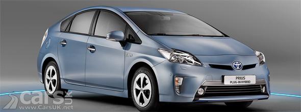 Toyota Prius Plug-in Hybrid in blue