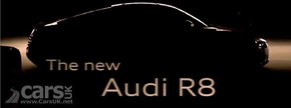 2013 Audi R8 Tease