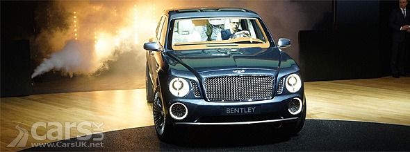 Bentley SUV in the flesh