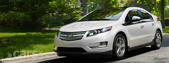 Chevrolet Volt on road