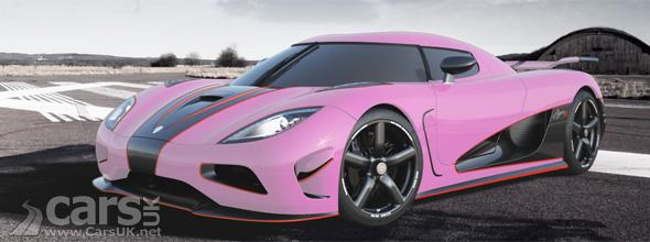 Pink Koenigsegg Agera R