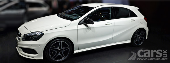 New Mercedes A Class at Geneva