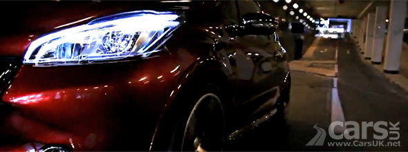 Still from Peugeot 208 GTi promo video