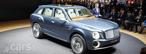 Bentley SUV engines