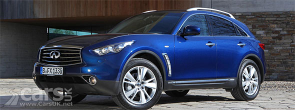 2012 Infiniti FX Facelift UK