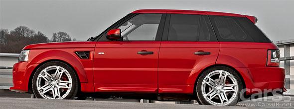 Range Rover Sport by Kahn The Red Ranger  Cars UK