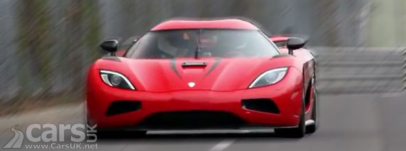 Koenigsegg Agera R hits 250mph at Nurburgring