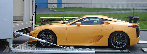 Lexus LFA Nurburgring Package UK