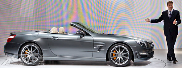 Mercedes SL 65 AMG 45th Anniversary Edition
