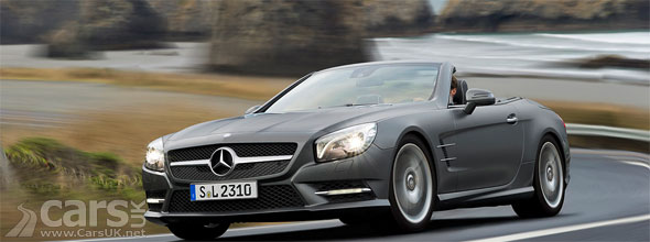New Mercedes SL Price