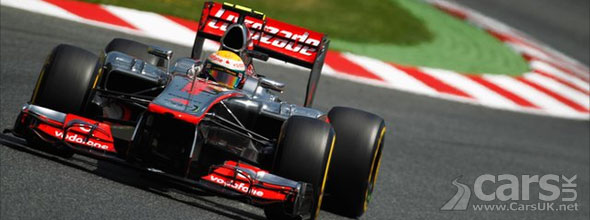 F1 Spain 2012 Grand Prix Qualifying