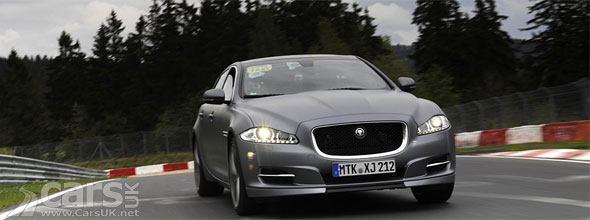 Jaguar XJ Supersport Nurbrurgring Taxi