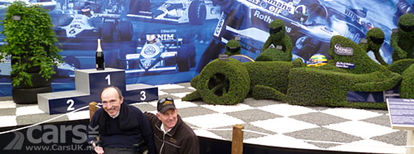 Williams F1 wins Chelsea Flower Show Gold