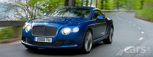 New Bentley Continental GT Speed
