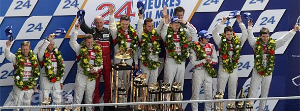 Audi win Le Mans 2012