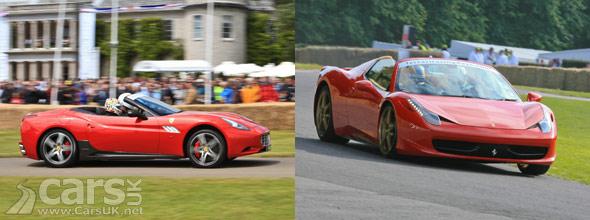 Ferrari 458 Spider & Ferrari California 30
