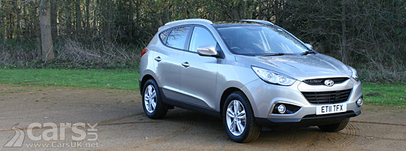 Hyundai ix35 Review (2012): Premium 1 7 CRDi 2WD | Cars UK